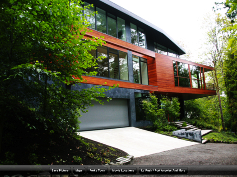 Cullens house used in movie